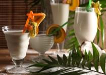 Przepis na koktajl kokosowo-bananowy
