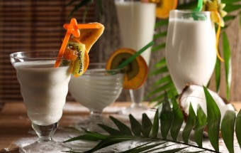 Koktajl kokosowo-bananowy