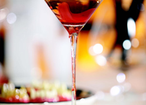 Vampire Martini drink