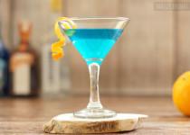 Smerfowy drink